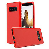 Note 8 Case - Orzly FlexiCase for Samsung Galaxy Note 8 - Red