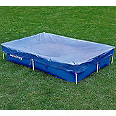 "Bestway 87"" x 59"" Metal Frame Winter Debris Pool Cover"