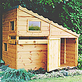 6 x 4 Wooden Command Post Playhouse 6ft x 4ft (1.83m x 1.22m)