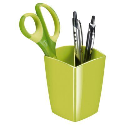 Solid Green Pencil Pot