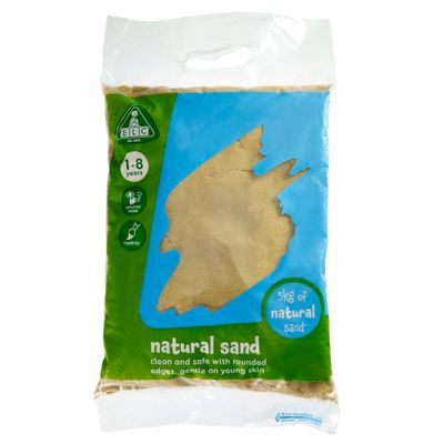 ELC Natural Play Sand - 5kg Bag