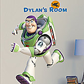 Disney Toy Story Buzz Giant Personalisable Wall Sticker