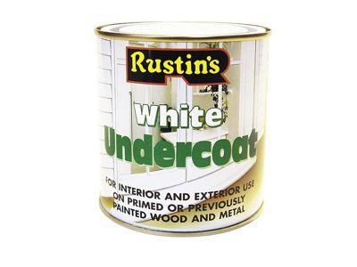 Rustins White Undercoat 500ml