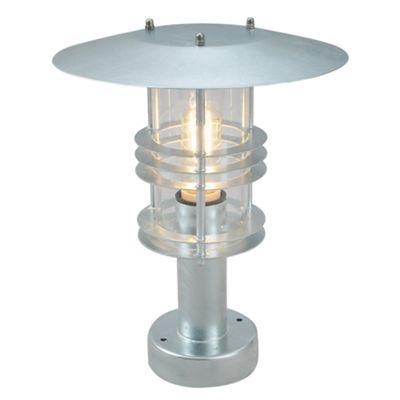 Galvanised Pedestal - 1 x 60W E27