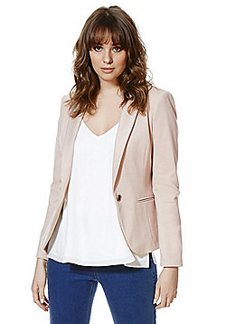 F&F Jersey Jacket - Blush pink