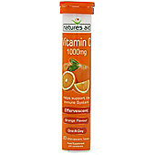 Natures Aid Vitamin C Effervescent 1000mg - 20 Tablets
