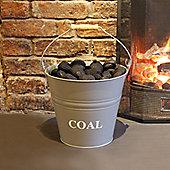 a'la Maison Fireside Fireplace Steel Coal Bucket Dimensions W30 D33 H30CM