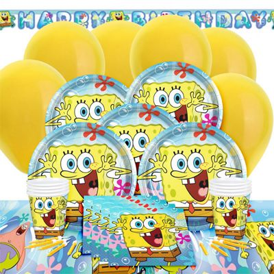 Spongebob Deluxe Party Pack for 8