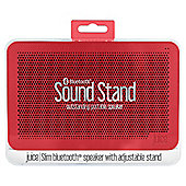 Juice Sound Stand Bluetooth Speaker, Red