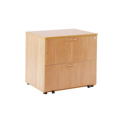 Arista Desk High Side Filer Beech KF72416