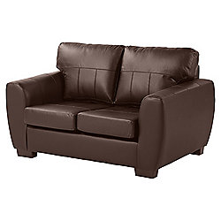 Ernest Compact 2 Seater Sofa, Chocolate