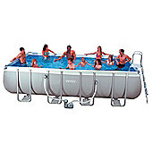 "Intex Ultra Frame Rectangular Metal Pool 12' x 24' x 52"" - 28362"