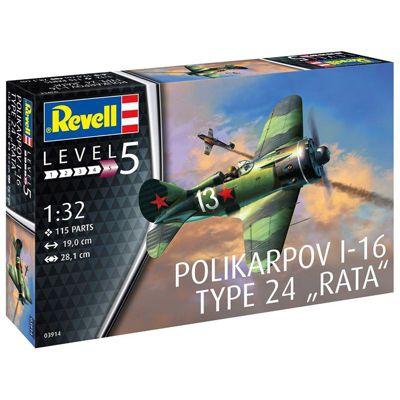 REVELL Polikarpov I-16 type 24