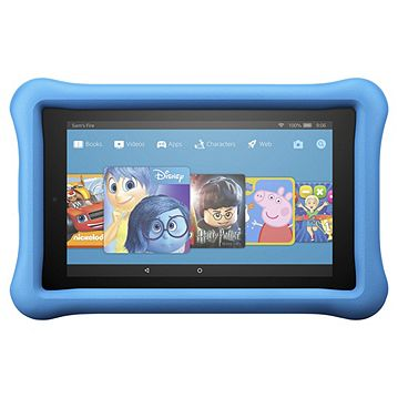 online store 3bd30 f2453 Amazon Fire 7 Kids Edition 7 Inch Tablet 16GB with Blue Kid Proof Case