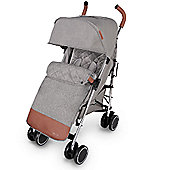 Ickle Bubba Discovery Max Stroller plus accessories Grey on Silver Frame