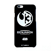 Star Wars Rogue 1 Rebel/Empire Personalised Black iPhone 6 Cover