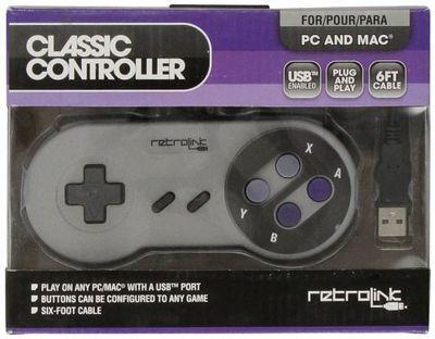 USB Super SNES Classic Controller - PC