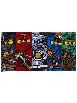 Lego Ninjago Warrior Towel