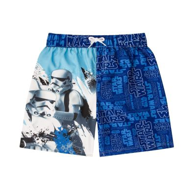 Star Wars Boys Swim Shorts 7-8 Years