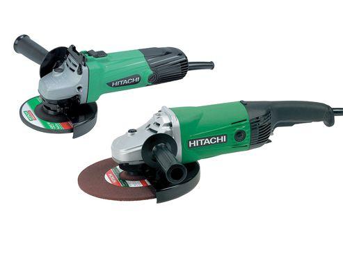Hitachi Angle Grinder Twin Pack 115mm + 230mm 110 Volt