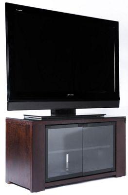 Optimum Edge 850 Chocolate Oak TV Cabinet