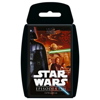 Top Trumps - Star Wars Episodes 1-3