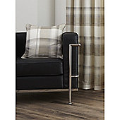 Fusion Balmoral Check Cushion Cover - Natural 43x43cm