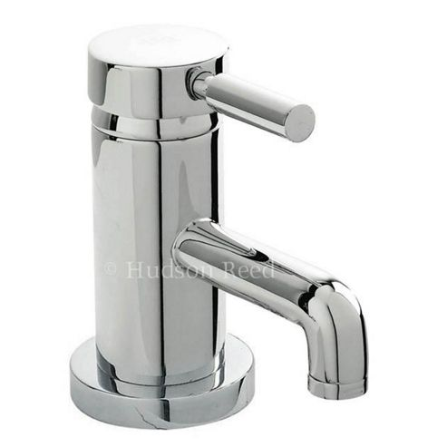 Hudson Reed Tec Single Lever Mono Basin Mixer Tap with Pop Up Waste