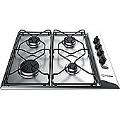 Indesit Aria Gas Hob, PAA 642 IX/I WE, 58cm - Stainless Steel