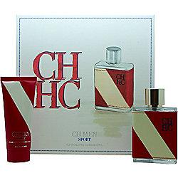 Carolina Herrera CH Men Sport Gift Set 100ml EDT + 100ml Aftershave Balm For Men