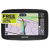 TomTom Via 52 Sat Nav with Lifetime UK and Europe Maps and Unlimited Traffic