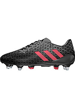 adidas Crazyquick Malice SG Rugby Boots - Black - Black