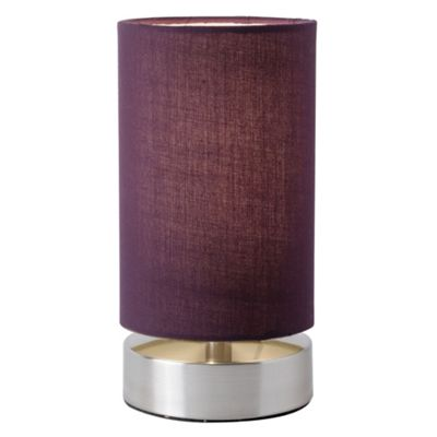 Endon Lighting Table Lamps (Pair) - Aubergine