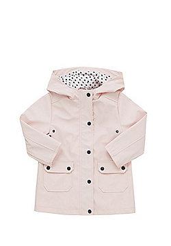 F&F Rubberised Raincoat - Pink