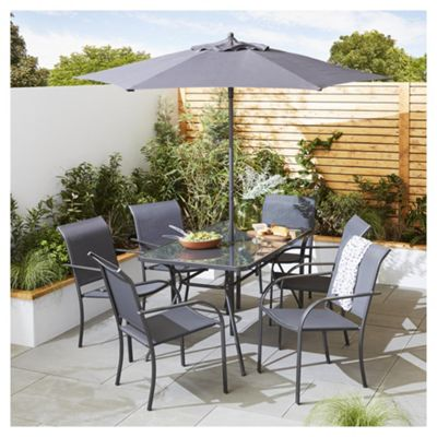 Rattan Garden Furniture Tesco buy valencia 8 piece metal garden dining set from our metal garden