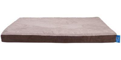 Silentnight Ultra Grade Memory Foam Dog Bed - Cord Mink - Medium