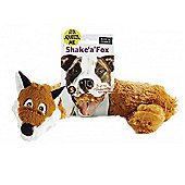 Shake A Fox Dog Toy - Small