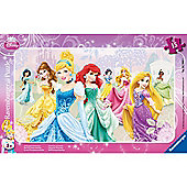 Puzzle - Disney Princesses Frame Puzzle 15 Pieces - Ravensburger