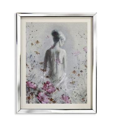 Isabelle Mirror Framed Print 50cm x 40cm