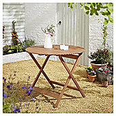 Kingsbury Circular Folding Wooden Garden Table