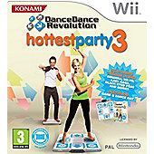 Dance Dance Revolution - Hottest Party 3 - Game Only - NintendoWii