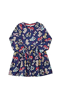 Hasbro My Little Pony Jersey Fit and Flare Dress - Navy