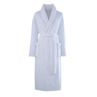 Catherine Lansfield So Soft Bathrobe - White