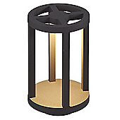 LED Short Round Lantern for Indoor or Outdoor Use - Smartwares Torino