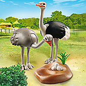 Playmobil City Life Zoo Ostriches with Nest