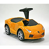 Kids Car Foot To Floor Lamborghini Aventador Yellow