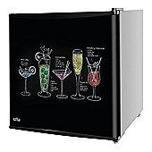 Kuhla Cocktail Design Table Top Fridge, KTTF4BGB-1001