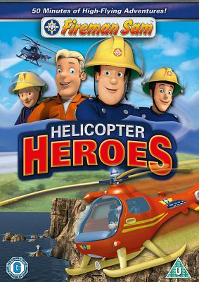 Fireman Sam - Helicopter Heroes (DVD)