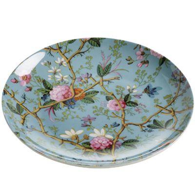 MW WK Plate 20cm Victorian Garden GB