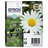 Epson Daisy 18 Cyan Claria Ink